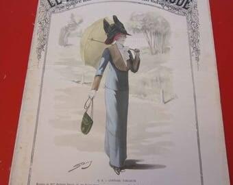 Magazine, Antique, Vintage, Fashions, Ads and Lots More: 1911, Le Moniteur De La Mode, French