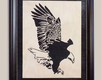 Eagle Wood Portrait