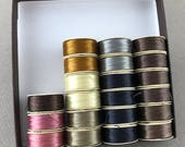 Nymo Bead Thread, Size D, color variety pack