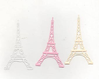 99 - Set of eiffel tower decorations for your cards or scrapbooking