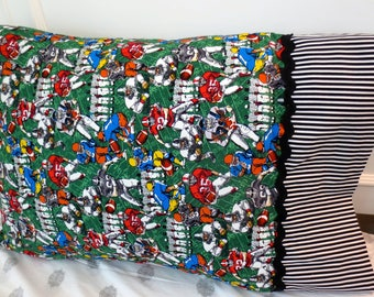 Football pillowcase/Sports pillowcase