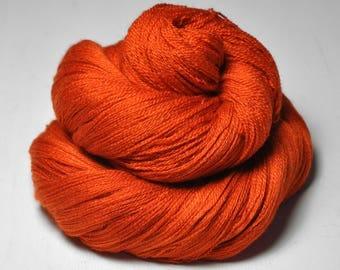 Red-hot metal - Merino/Silk/Cashmere Fine Lace Yarn