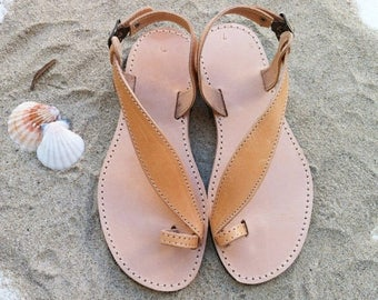 ON SALE leather sandals, handmade Greek sandals, wedding sandals