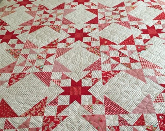 Wish Upon a Star quilt designed by Bonnie Olaveson, Bonnie and Camille Fabrics