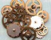 Clock Gears Large Size Vintage Ephemera 14
