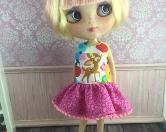 Blythe Drop Waist Dress - Little Deer