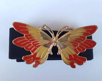 80s Belt / Bohemian Belt / Butterfly Belt