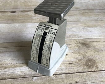 Small Vintage Postage Scale - Princess - 1953