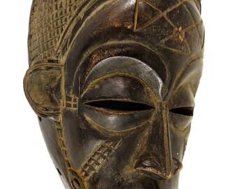 Chokwe Female Mask Mwana Pwo Congo African Art 91850