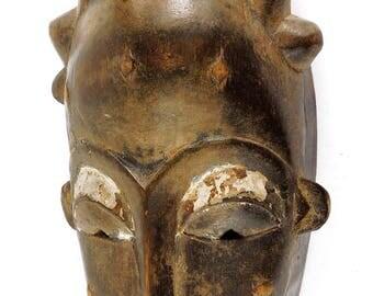 Baule Portrait Mask Kpan or Mblo Cote d'Ivoire African Art 119930