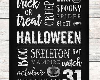 "Giant Halloween Poster - 36"" x 48"""