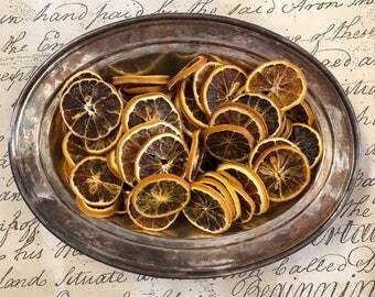 Orange Slices 8oz - Botanical - Home Decor - Citrus