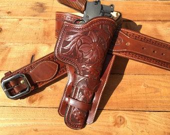 Mauser C96 Machine Pistol Holster & Belt