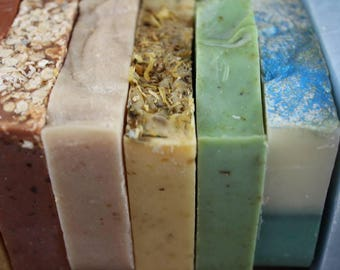 Cold Process Soap, Mix and Match, Your Choice, Handmade, 3 for 15
