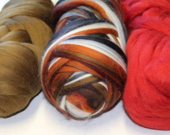 Merino wool top trios