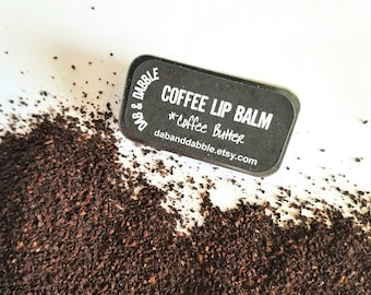Coffee Lip Balm with Cocoa Butter | Vegan Lip Balm