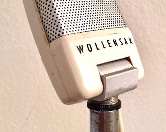 Little Screamer Eggshell White Hamonica Microphone with XLR output Wollensak