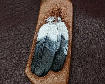 Bald eagle feathers, Eagles keychain, Eagles feather key fob, feather keyring, keychains feathers,