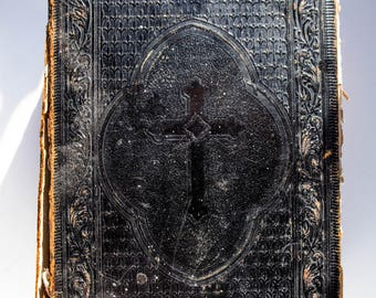 Antique German Bible 1897