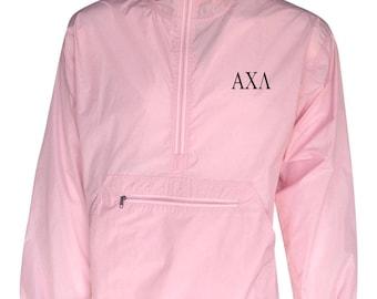 Alpha Chi Lambda Unlined Anorak (Pink)