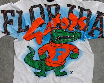 XL Vintage Florida Gaters T Shirt | Oversized Drapey Football Boyfriend Tee Shirt | Magic Johnson T's