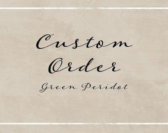 Custom Bridal Order for Hollie