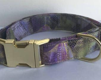 Dragonfly Wings Dog Collar Size XS, S, M or L