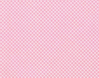 END of BOLT ~~ 13 inches ~~ Pink Crisscross Robert Kaufman Ann Kelle Remix AAK-15240-10 Pink Sale
