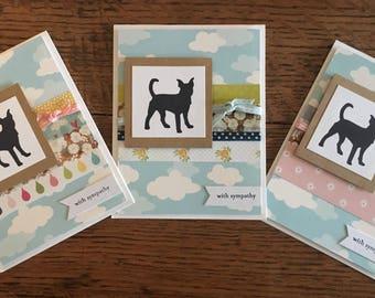 Pet Sympathy Card - Dog Sympathy Card - Sympathy Card