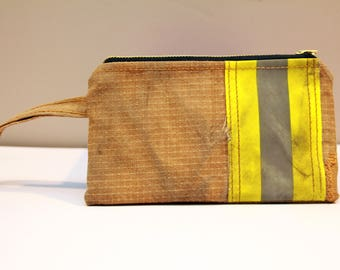 Firefighter turnout gear Wristlet Clutch, Evening Clutch, Bridesmaid Gift, Wrist Bag, Wife, Girlfriend,Fireman, iphone