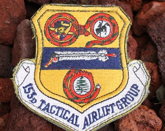 153D Tactical Airlift Group Military Patch