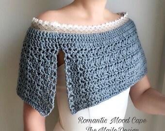 Cape Women / Crochet cape / Wedding Cape / Bridesmaid Cape / Wedding Cover up / Crochet Wedding Cape / Bridal Cape / Lace Cape /