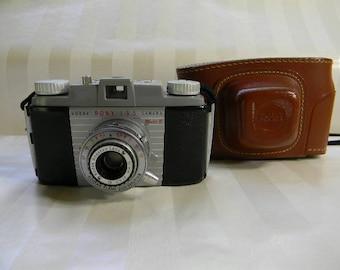 Vintage KODAK Pony 135 Model B Camera with Case