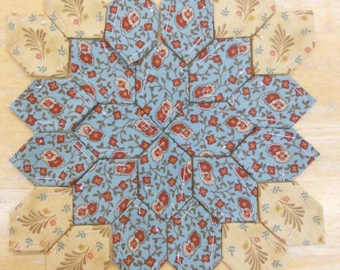 Lucy Boston Patchwork of the Crosses civil war block kit #11