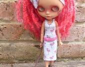 Blythe Summer Flamingo Dress & Accessories  (BD13017)