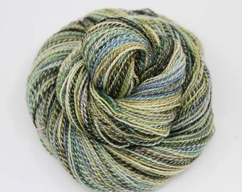 Handspun Yarn: Freeze & Thaw