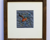 As Kingfishers Catch Fire (Original Embroidery)