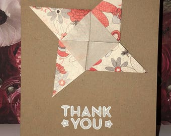 Various discounted handmade thank you/ thinking of you cards