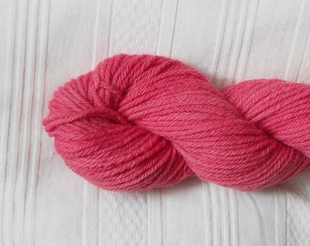Bougainvilla worsted-weight wool yarn