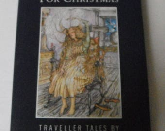 Tell Me A Story For Christmas Traveller Tales by Duncan Williamson Vintage Hardcover with dust jacket book