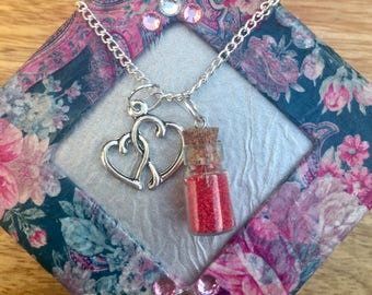 Heart Love Charm necklace