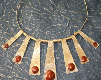 Amber necklace enchantress enamels