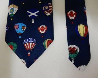 Tie, Hot Air Balloons