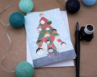 Postcard: Merry Christmas for everyone