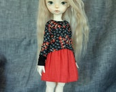 iMda 3.0 BJD top - black/red