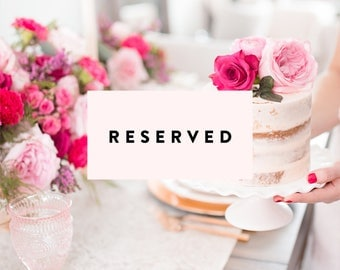 Reserved for Shelley