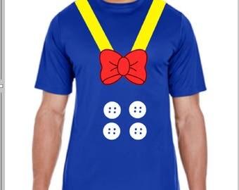 Donald Duck Shirt, Donald Duck Costume, Donald Duck Run Disney Shirt, Donald Duck Performance Shirt, Donald Duck Run Disney Outfit