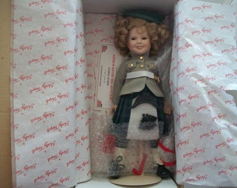 Vintage 1986 Shirley Temple Doll Of The Silver Screen