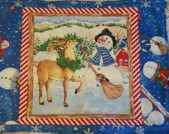 Snowman, Snow fun, Snow Magic placemats set of 4