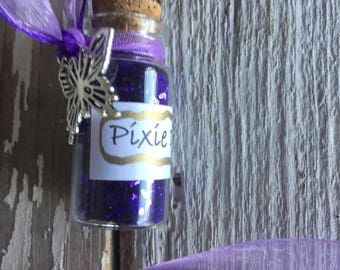 Affordable Purple Pixie Dust Necklace with Butterfly Charm